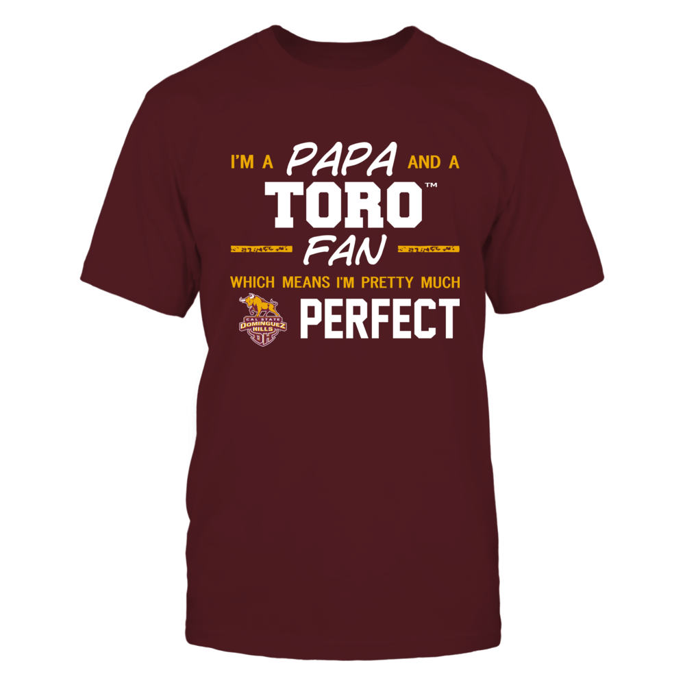 Cal State Dominguez Hills Toros - Perfect Papa - Team Front picture