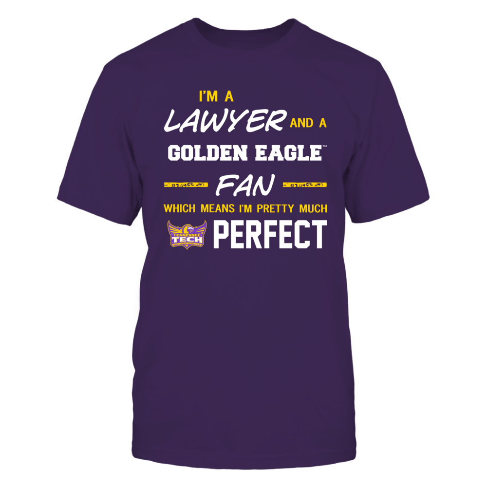 Tennessee Tech Golden Eagles - Perfect Lawyer - Team Front picture