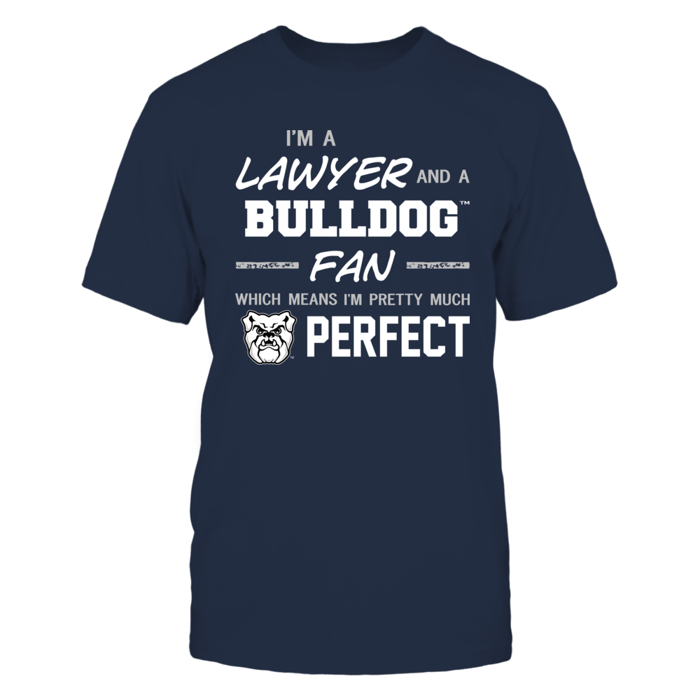 Butler Bulldogs - Perfect Lawyer - Team Front picture