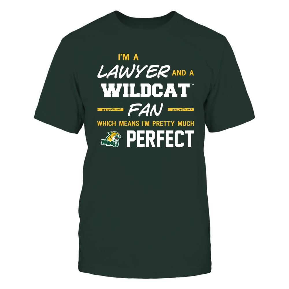 Northern Michigan Wildcats - Perfect Lawyer - Team Front picture