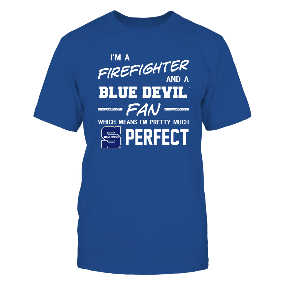 Wisconsin Stout Blue Devils - Perfect Firefighter - Team Front picture