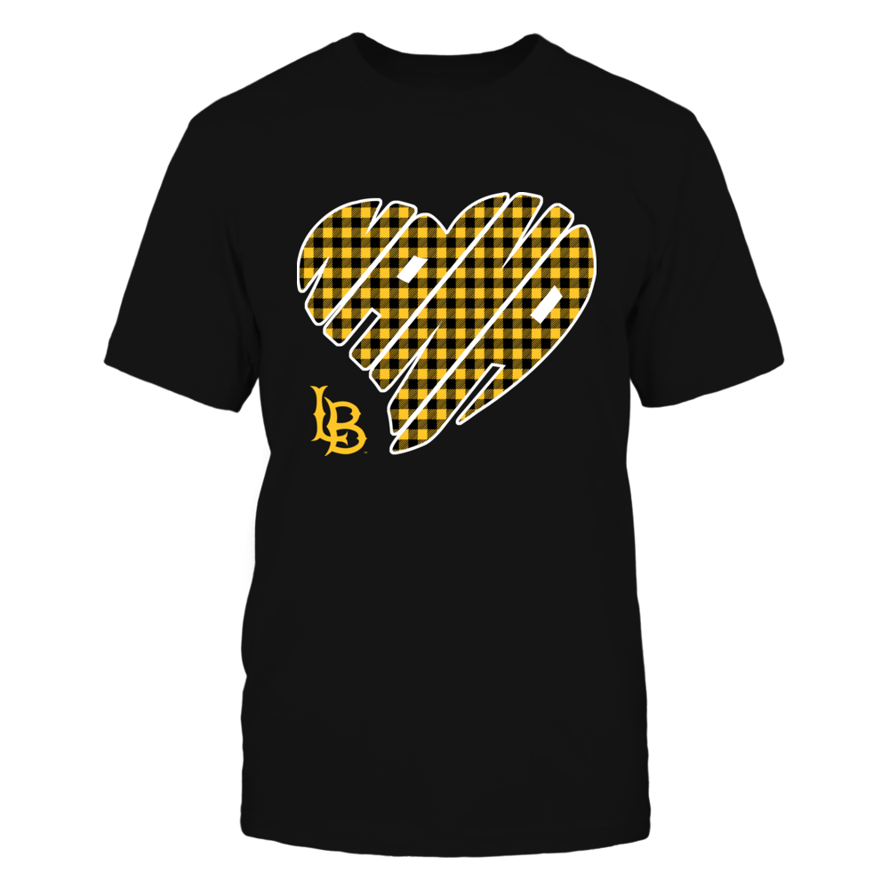 Long Beach State 49ers - Nana - Heart Shape - Checkered Front picture