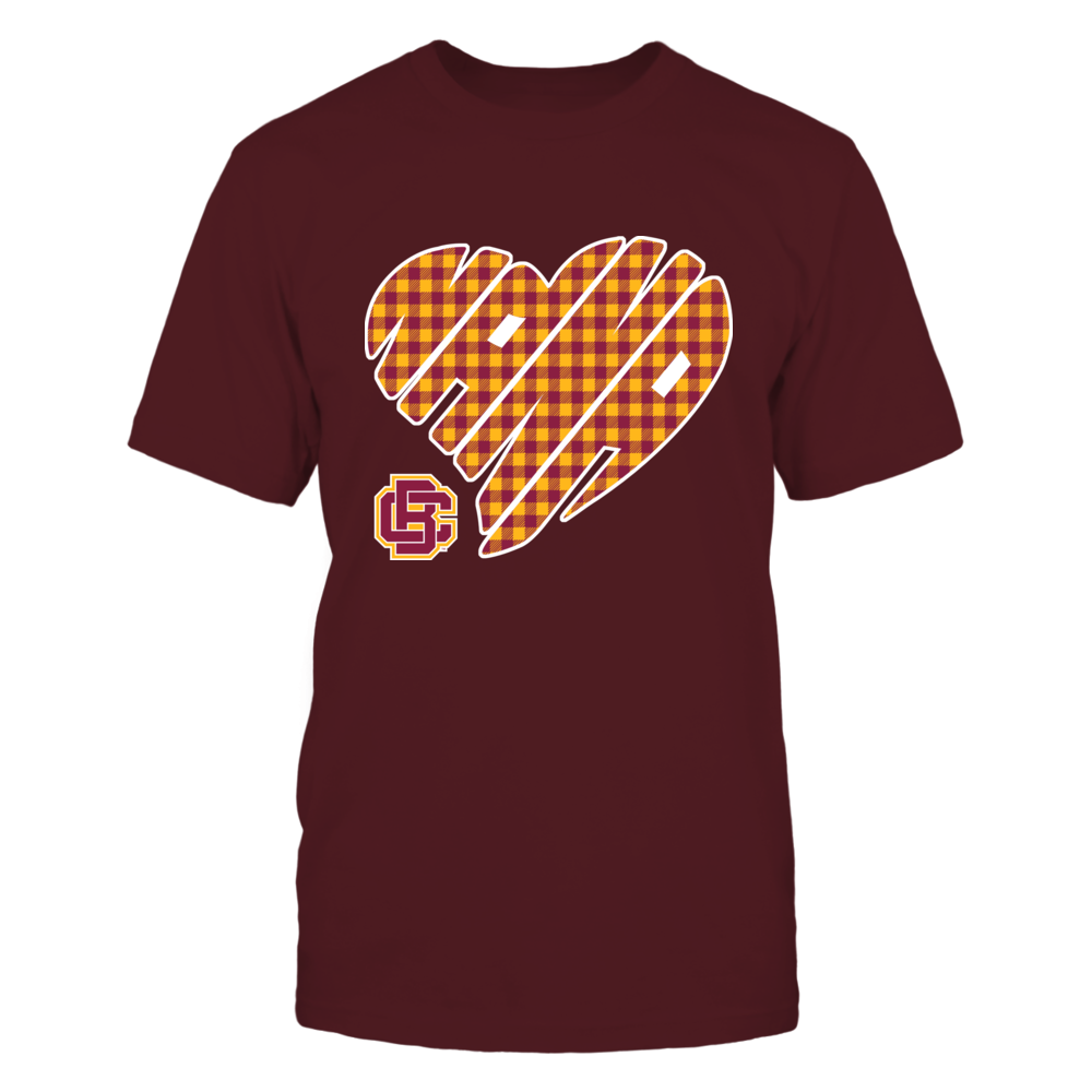 Bethune-Cookman Wildcats - Nana - Heart Shape - Checkered Front picture