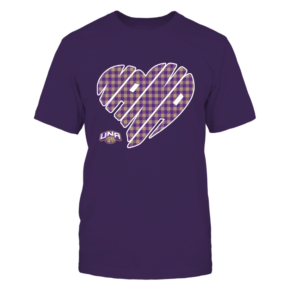 North Alabama Lions - Nana - Heart Shape - Checkered Front picture