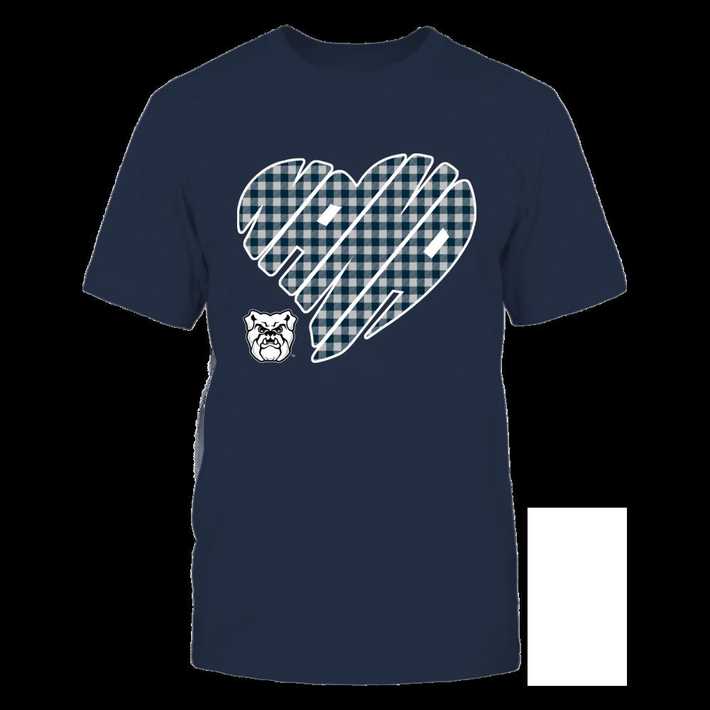 Butler Bulldogs - Nana - Heart Shape - Checkered Front picture