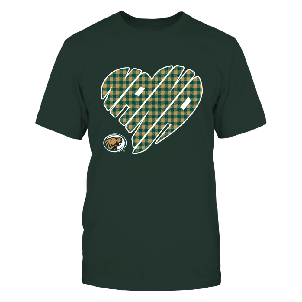 Bemidji State Beavers - Nana - Heart Shape - Checkered Front picture