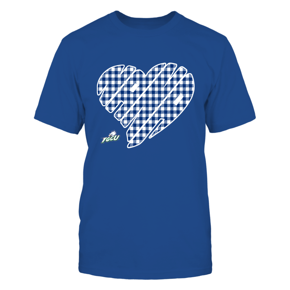 Florida Gulf Coast Eagles - Nana - Heart Shape - Checkered Front picture