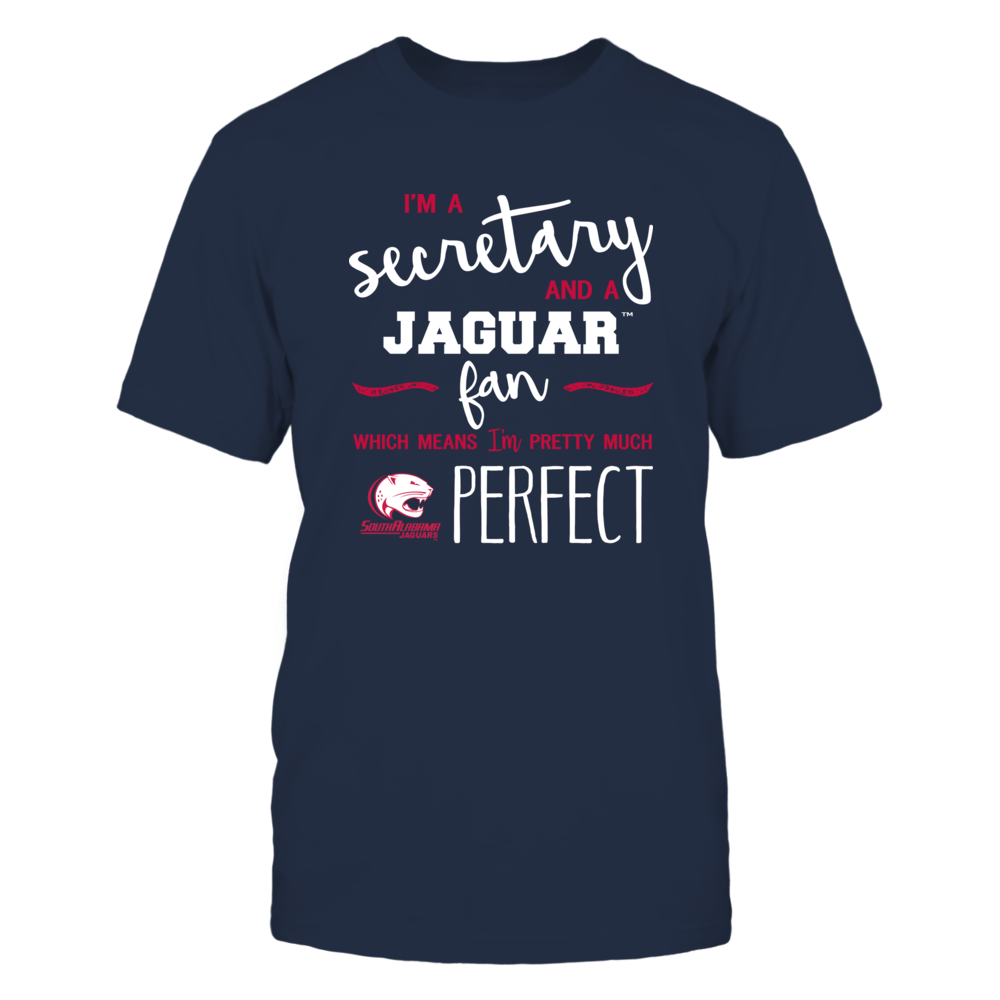 South Alabama Jaguars - Perfect Secretary - Team Front picture