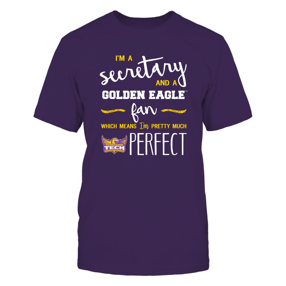 Tennessee Tech Golden Eagles - Perfect Secretary - Team Front picture