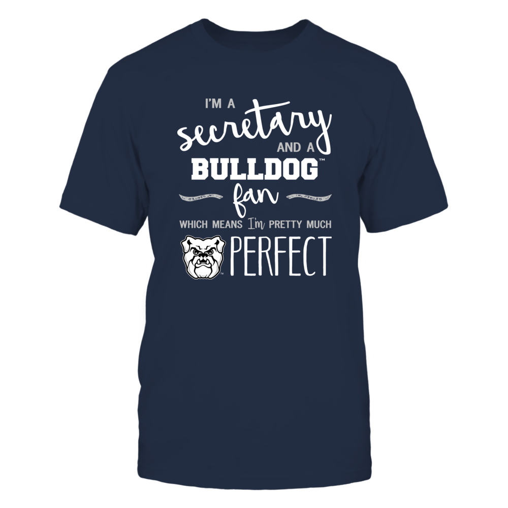 Butler Bulldogs - Perfect Secretary - Team Front picture