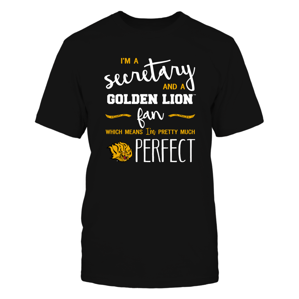 Arkansas Pine Bluff Golden Lions - Perfect Secretary - Team Front picture