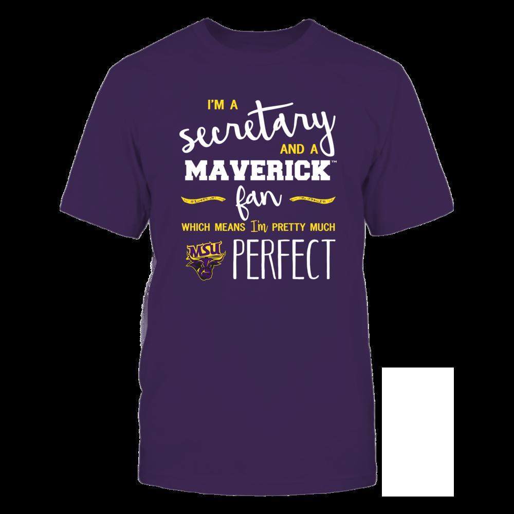Minnesota State Mavericks - Perfect Secretary - Team Front picture