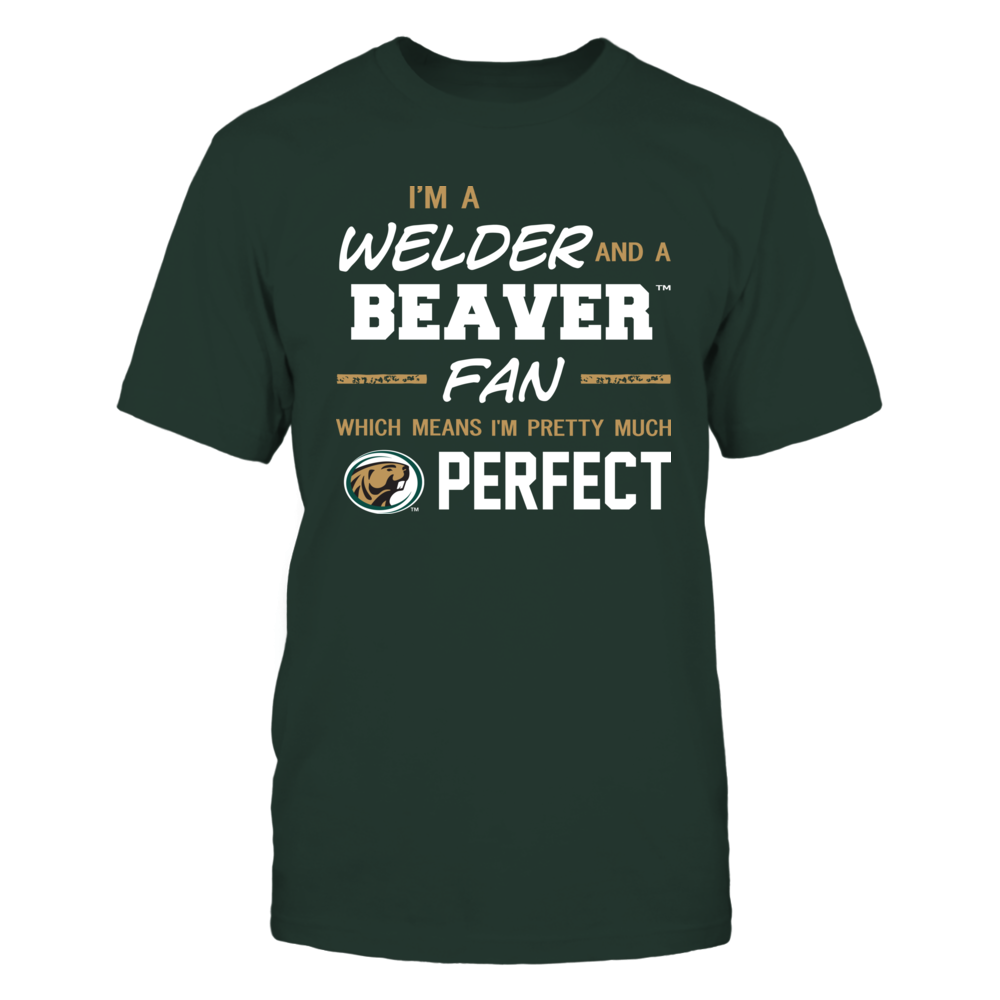 Bemidji State Beavers - Perfect Welder - Team Front picture