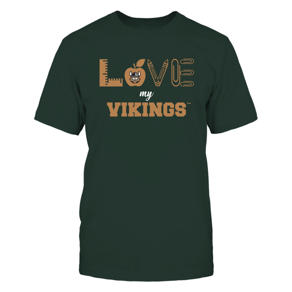 Cleveland State Vikings - Love - Teacher Symbols - Team Front picture