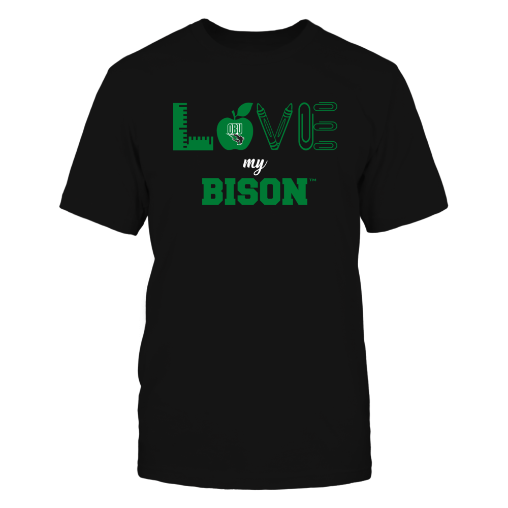 Oklahoma Baptist Bison - Love - Teacher Symbols - Team Front picture