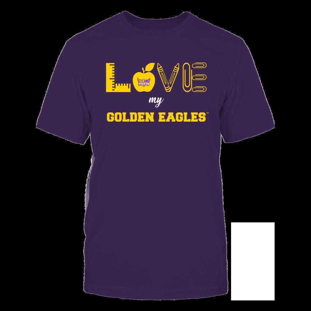 Tennessee Tech Golden Eagles - Love - Teacher Symbols - Team Front picture