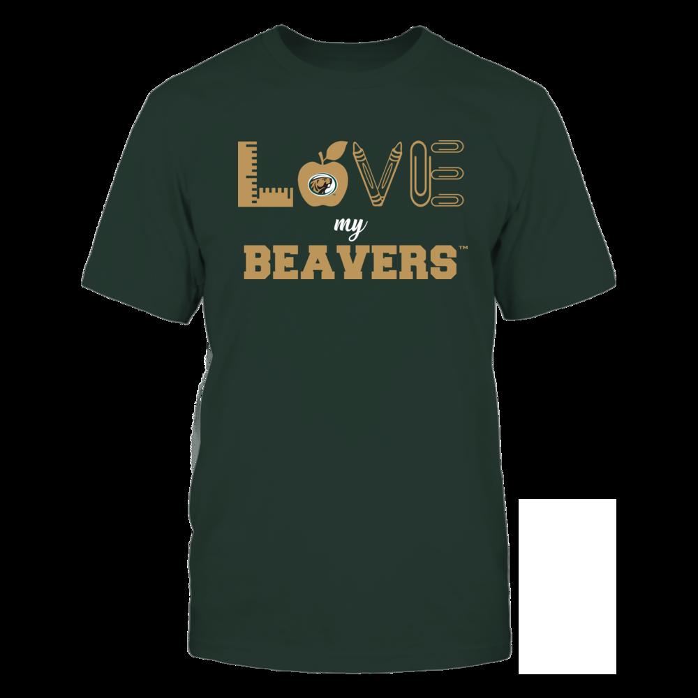 Bemidji State Beavers - Love - Teacher Symbols - Team Front picture