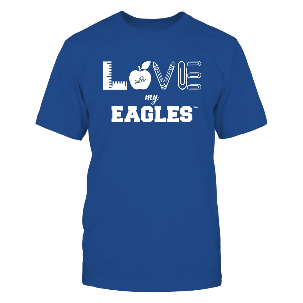 Florida Gulf Coast Eagles - Love - Teacher Symbols - Team Front picture