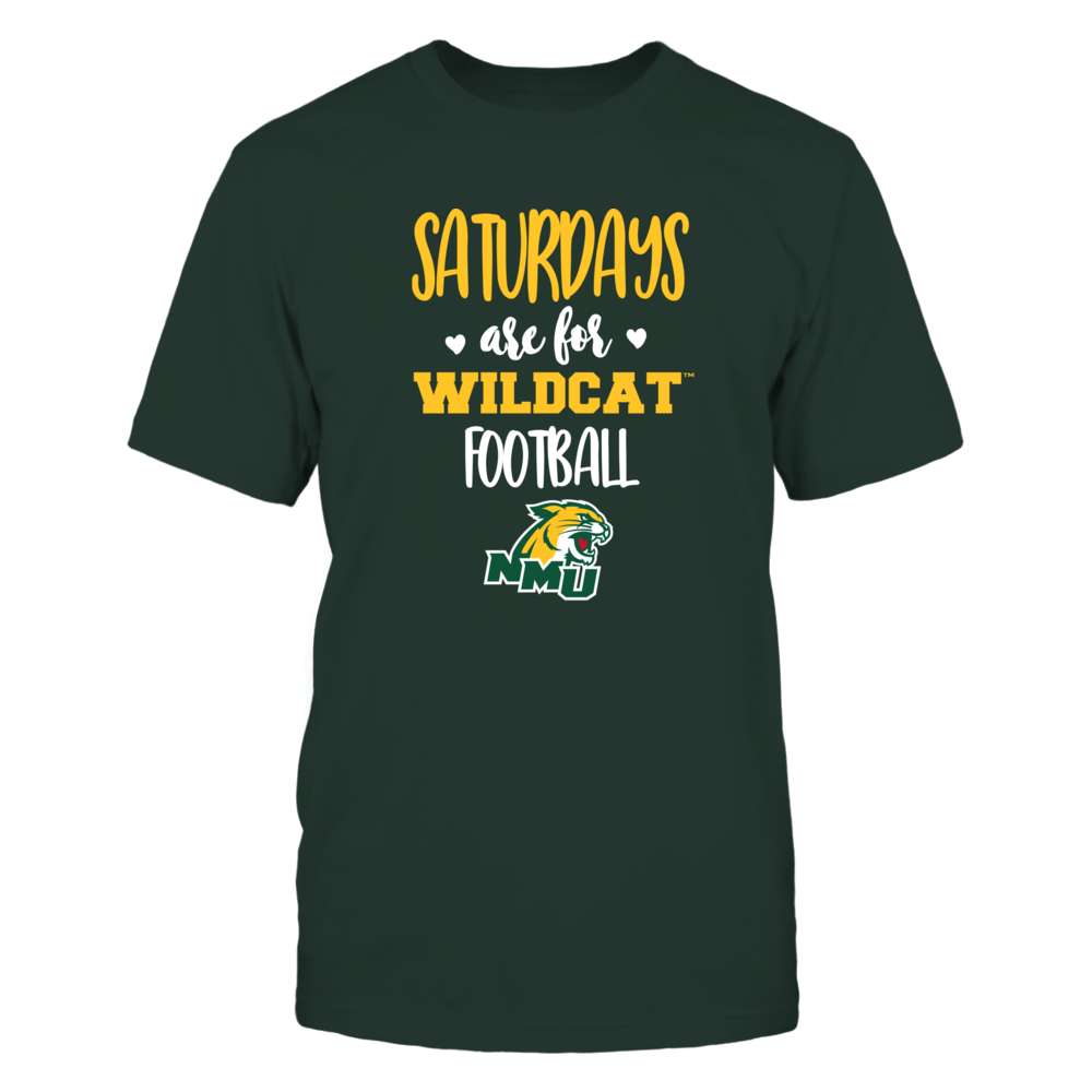 Northern Michigan Wildcats - Saturdays Are For Football - Team Front picture