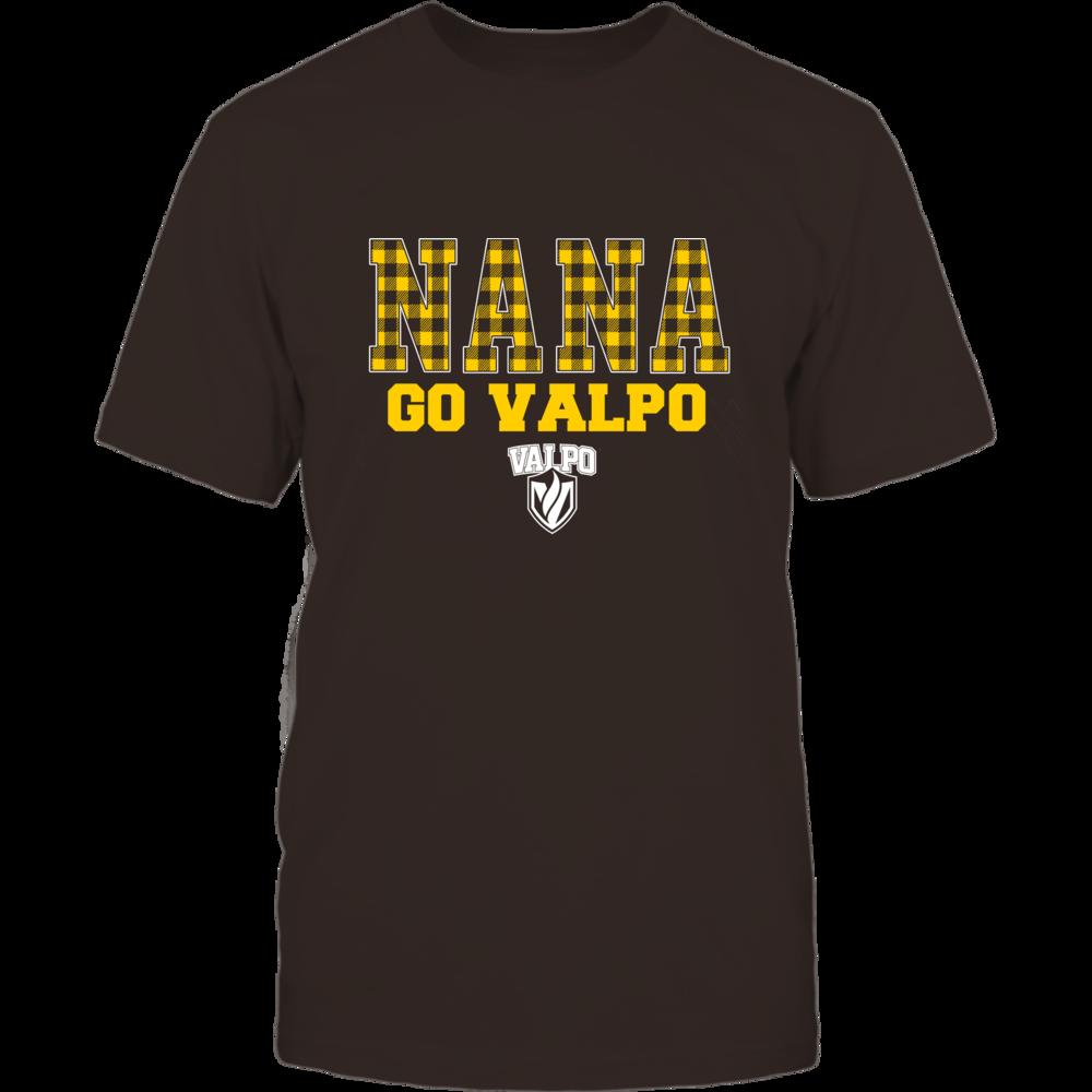 Valparaiso Crusaders - Checkered Pattern - Slogan - Nana Front picture