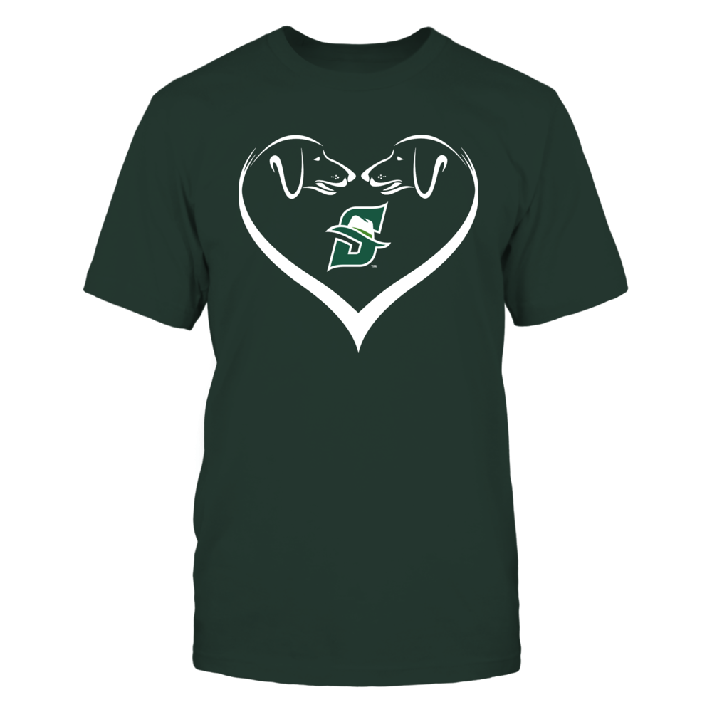 Stetson Hatters - Dog Heart Shape - Team Front picture