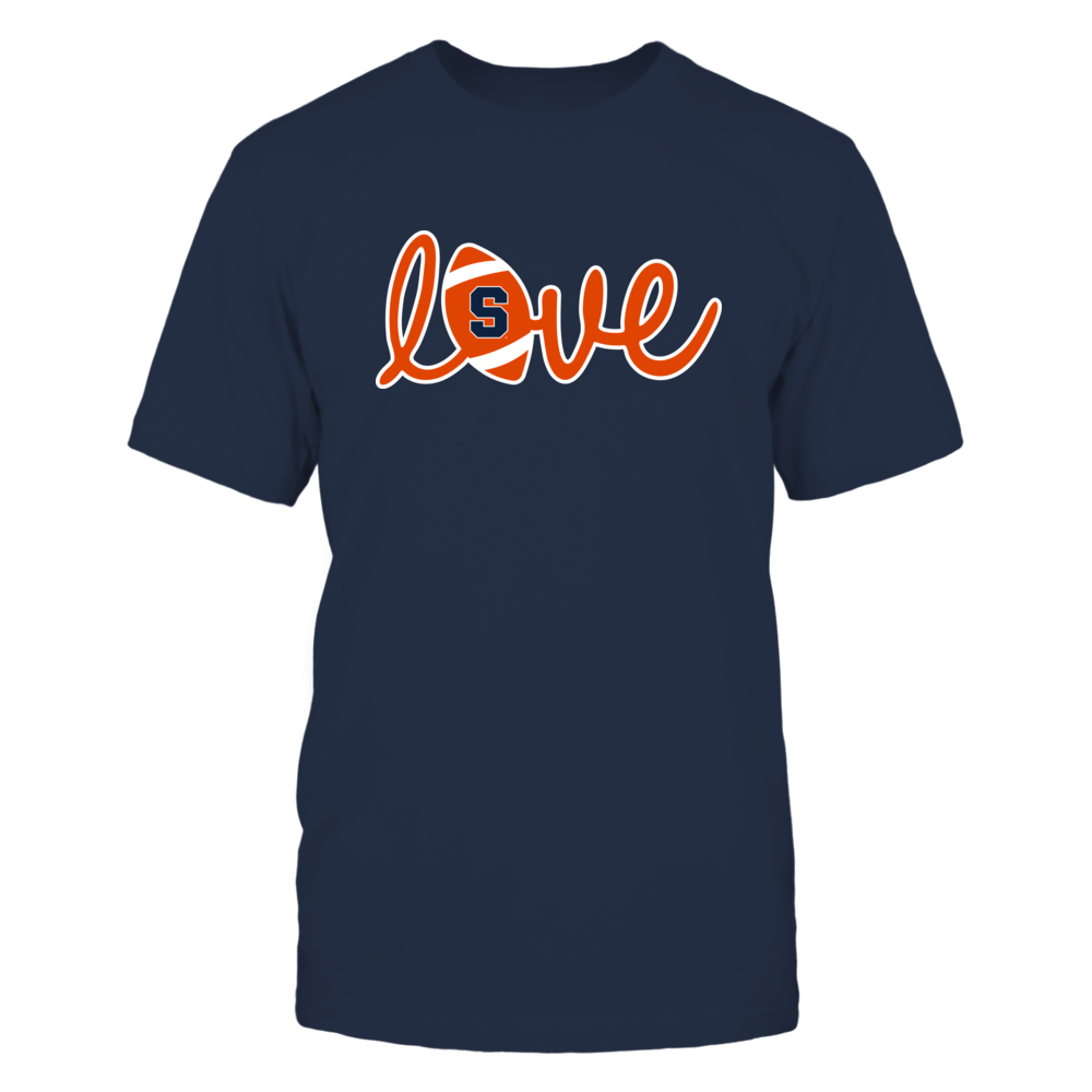 Syracuse Orange - Lowercase Love - Football Front picture