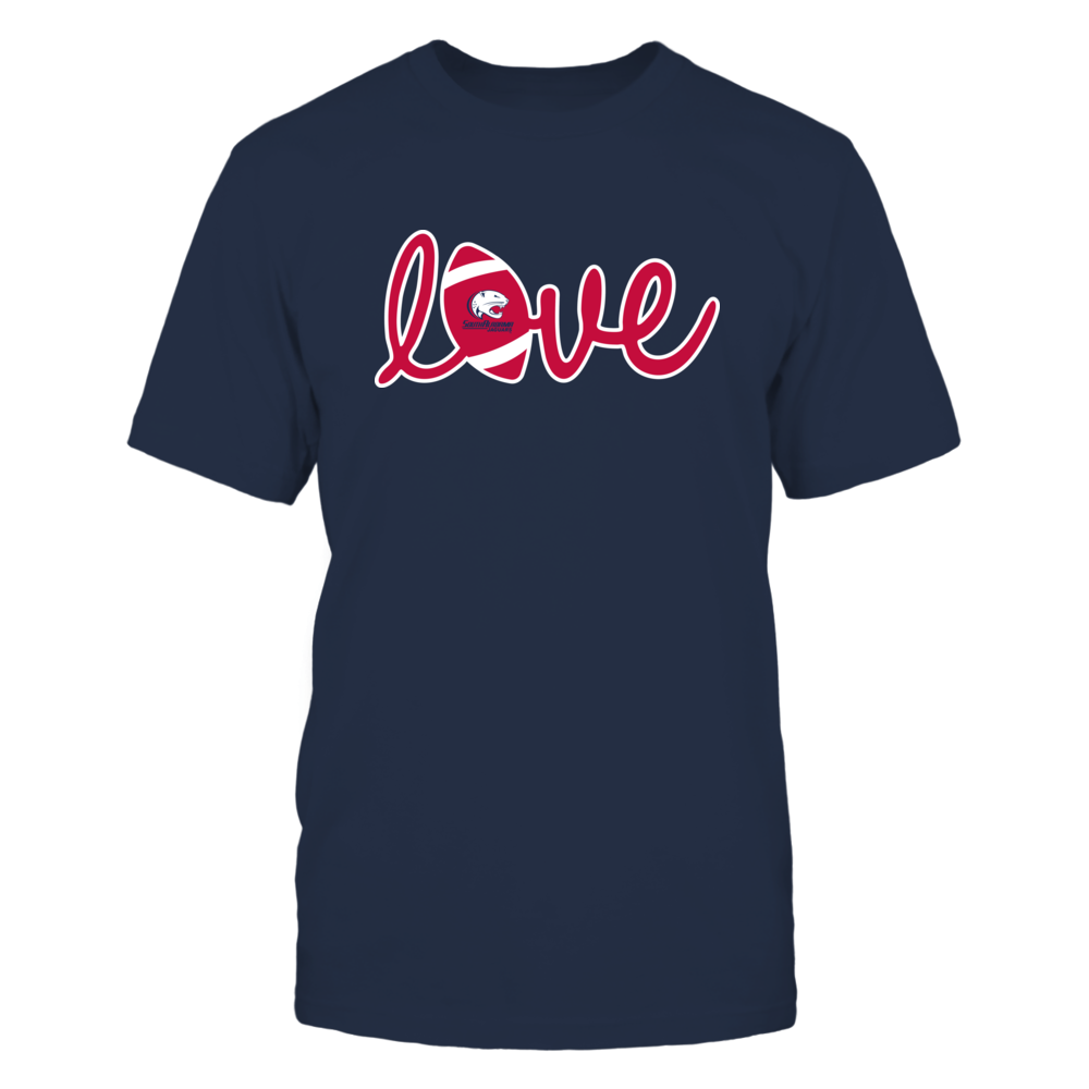 South Alabama Jaguars - Lowercase Love - Football Front picture
