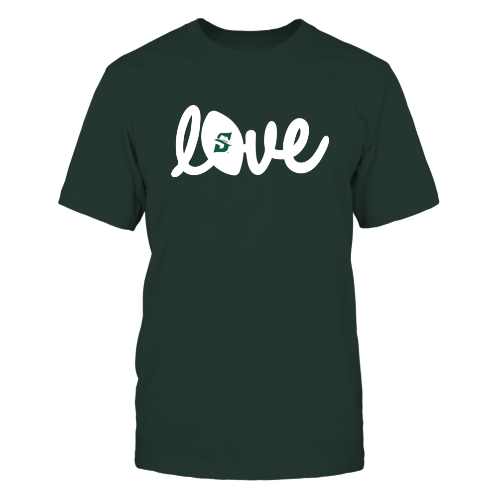 Stetson Hatters - Lowercase Love - Football Front picture