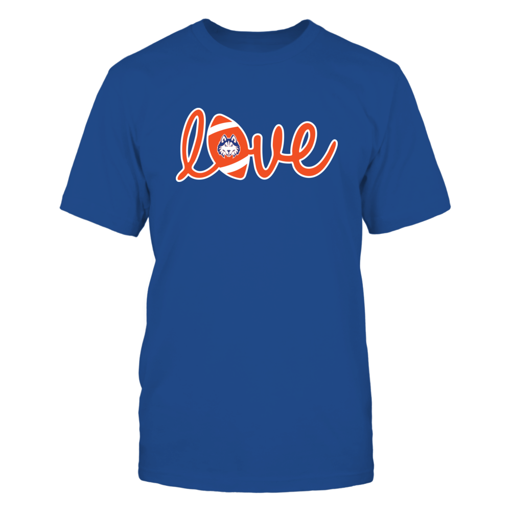 Houston Baptist Huskies - Lowercase Love - Football Front picture