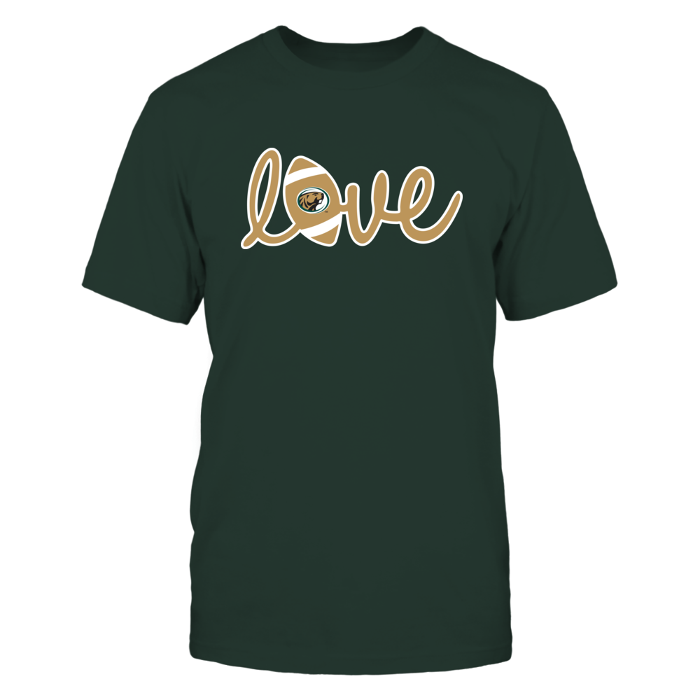 Bemidji State Beavers - Lowercase Love - Football Front picture