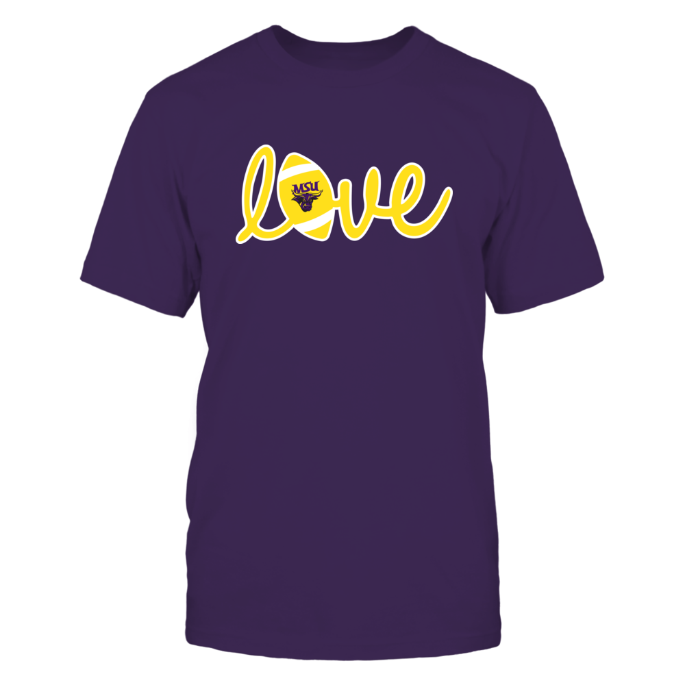 Minnesota State Mavericks - Lowercase Love - Football Front picture