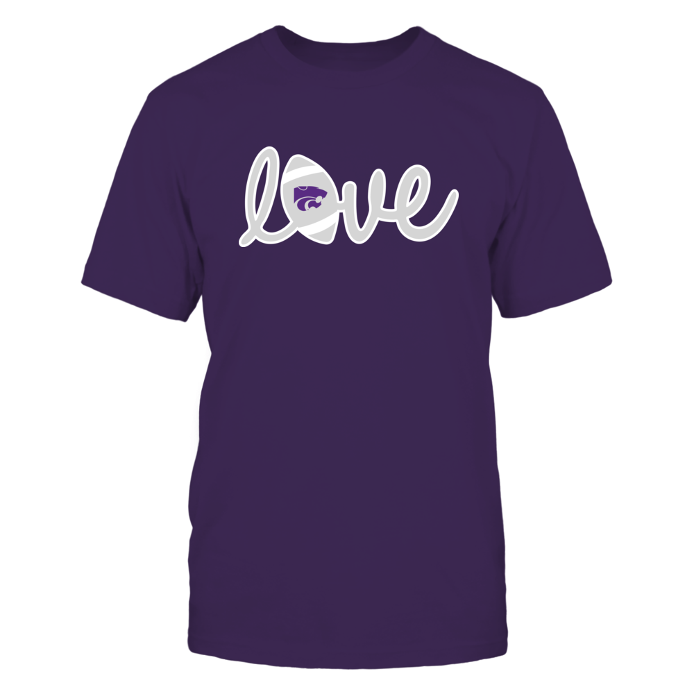 Kansas State Wildcats - Lowercase Love - Football Front picture