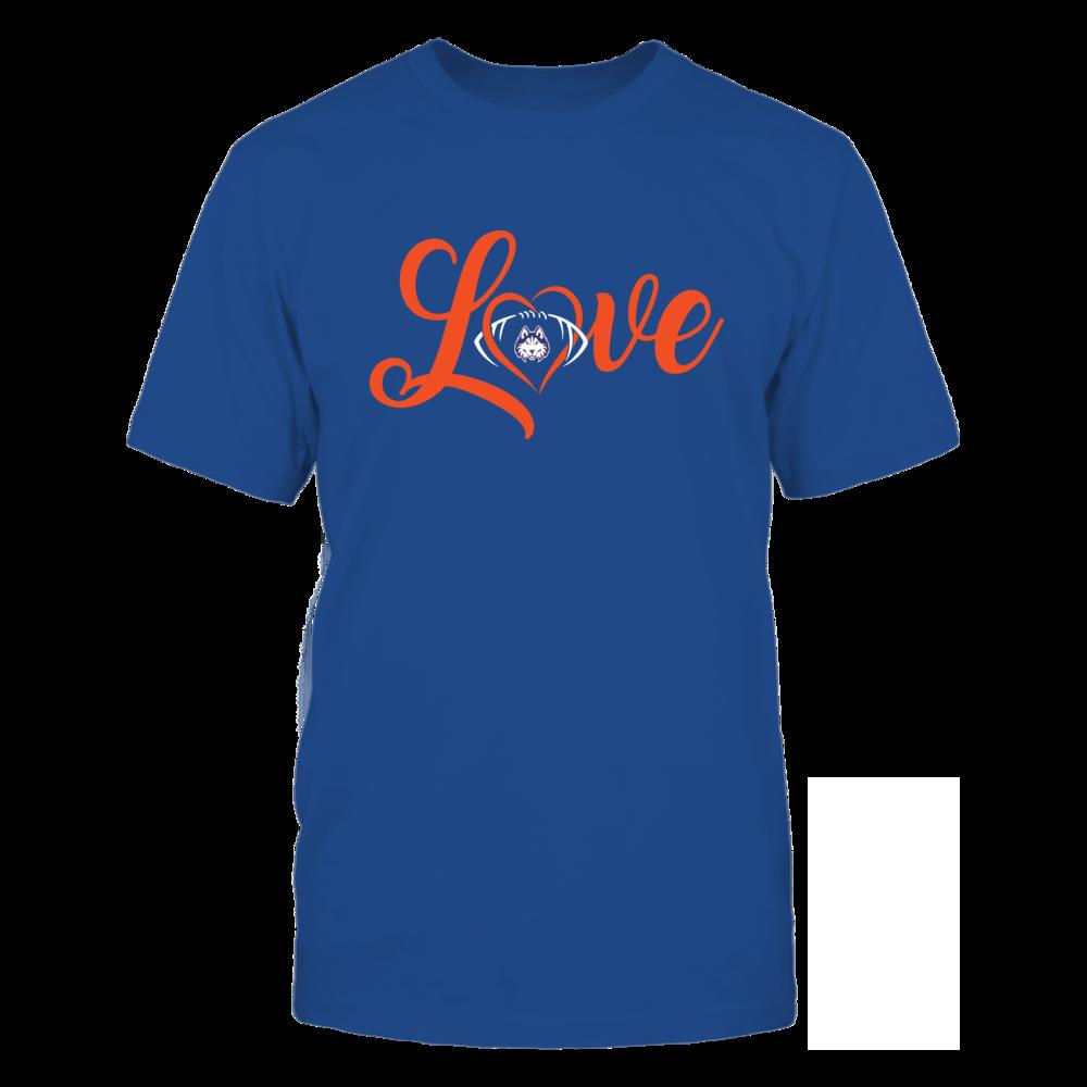 Houston Baptist Huskies - Love Heart - Football - Team Front picture