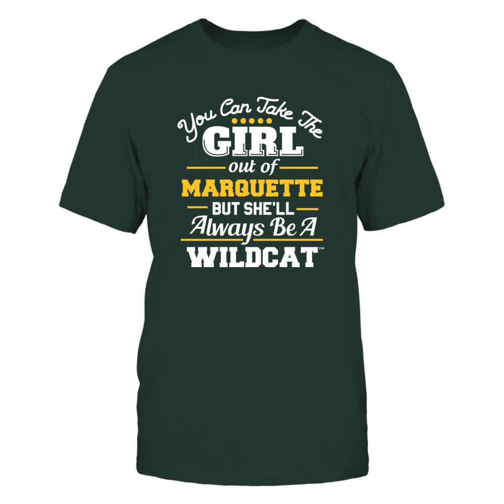 Northern Michigan Wildcats - You Can Take the Girl Out - Team Front picture
