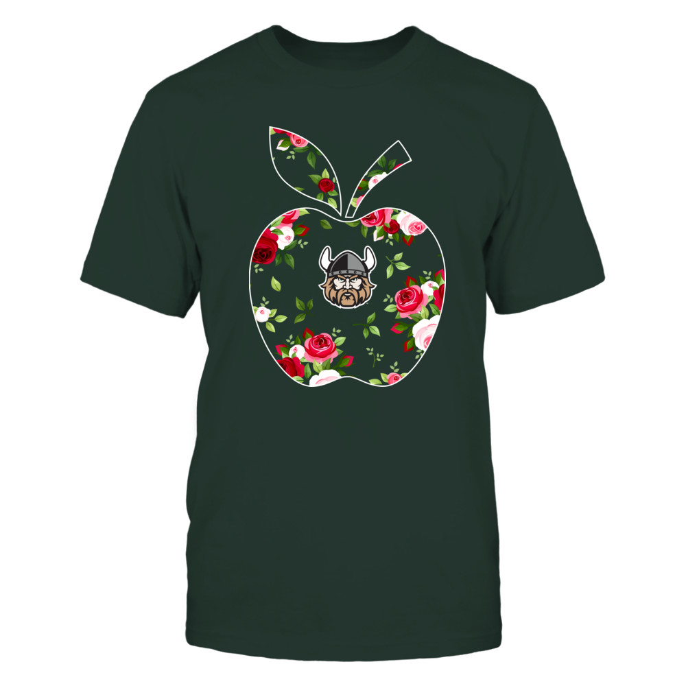 Cleveland State Vikings - Teacher - Floral Apple - Team Front picture