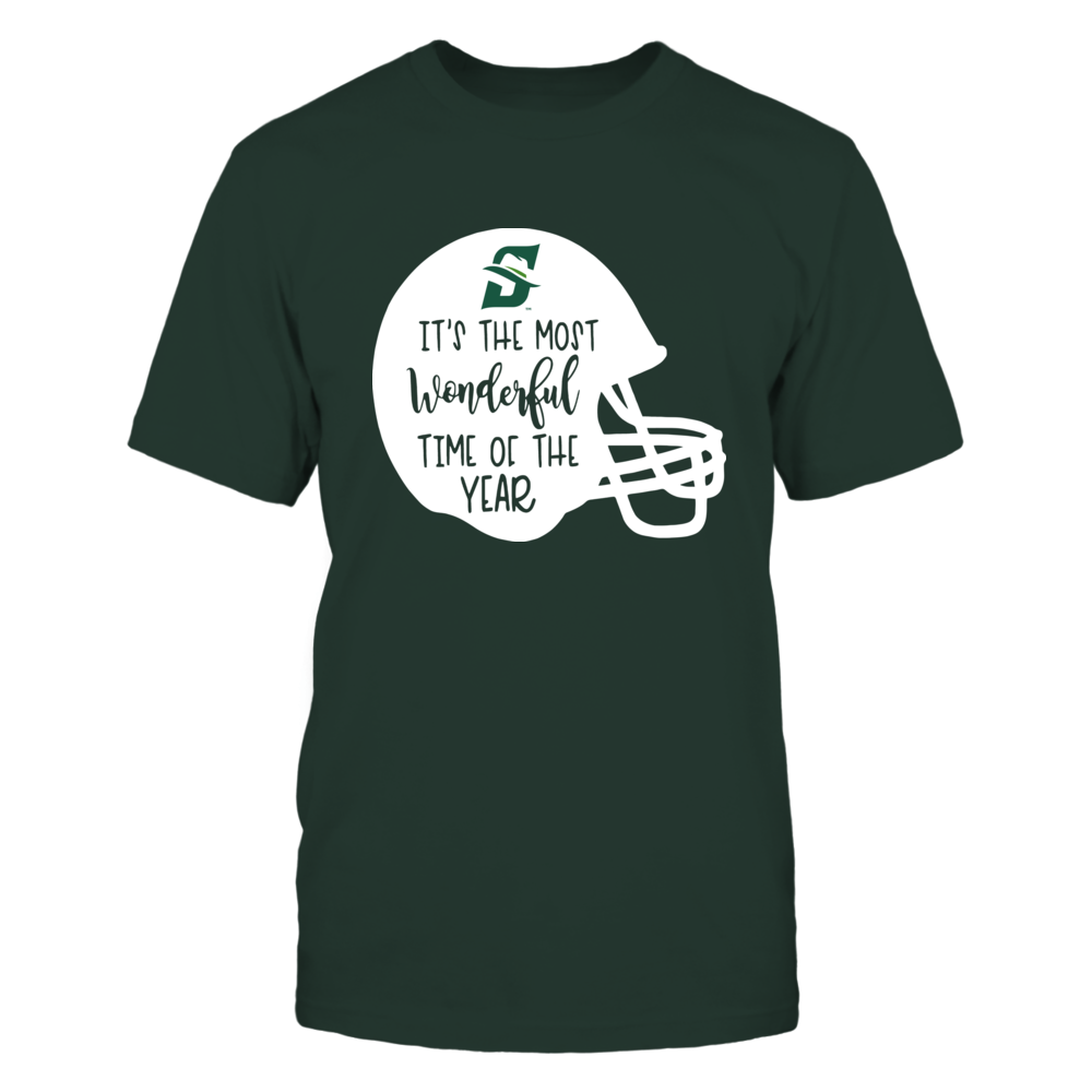 Stetson Hatters - Most Wonderful Time of the Year - Football Helmet Front picture