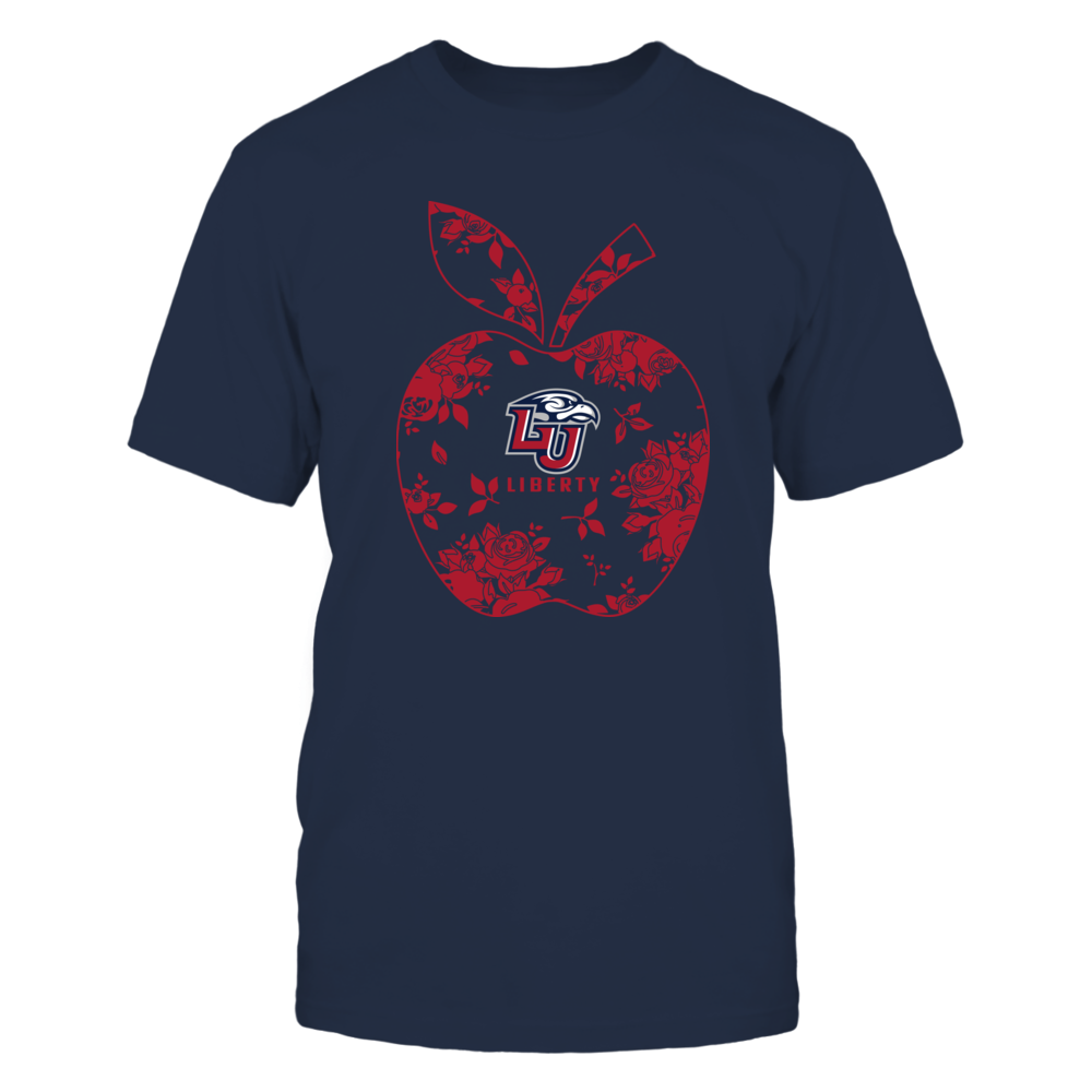 Liberty Flames - Teacher - Floral Apple - Team - Solid Front picture