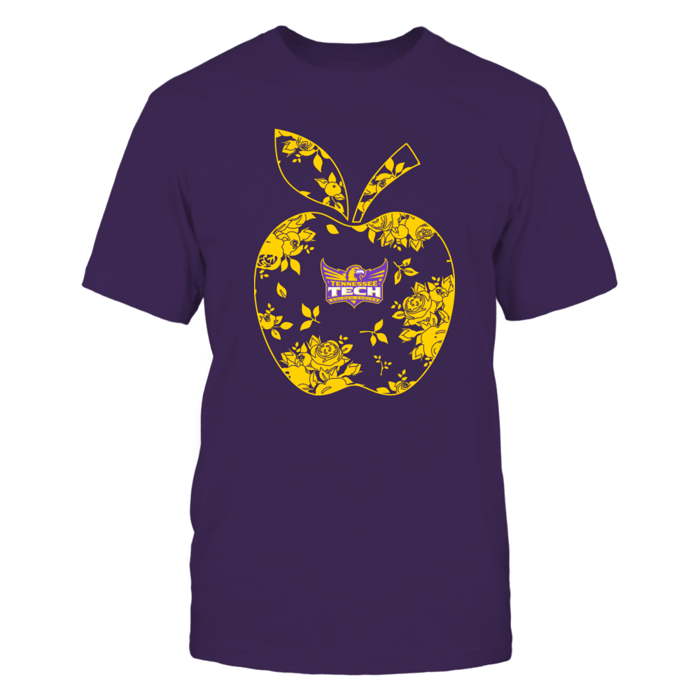 Tennessee Tech Golden Eagles - Teacher - Floral Apple - Team - Solid Front picture