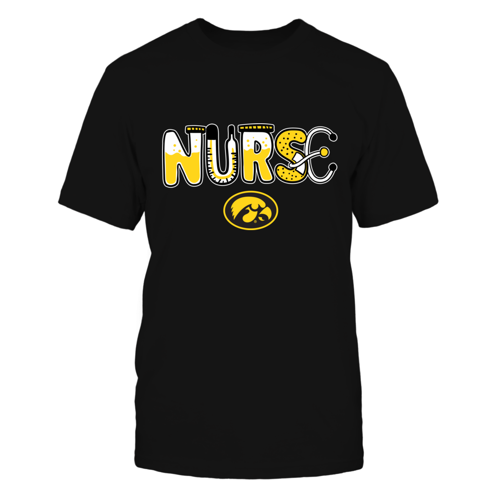Iowa Hawkeyes - Nurse Things - IF32-IC32-DS75 Front picture