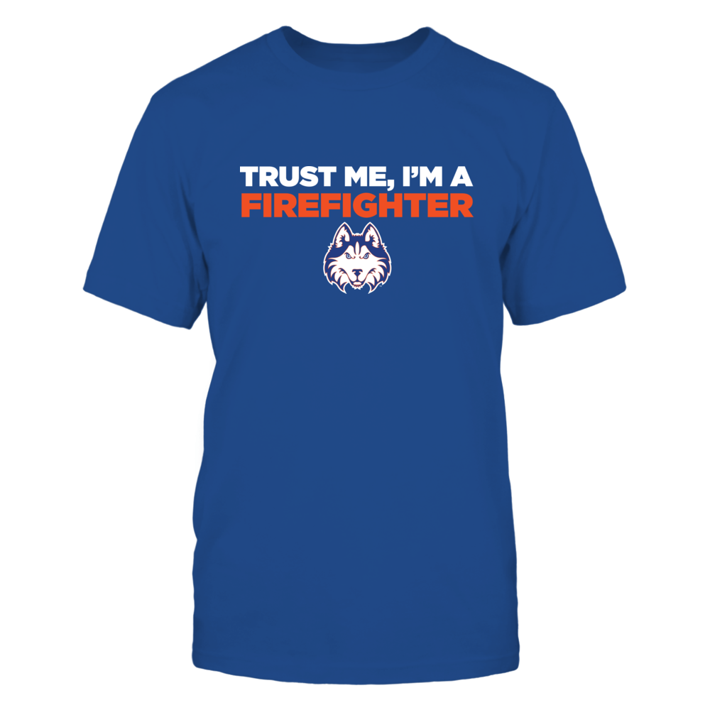 Houston Baptist Huskies - Trust Me - Firefighter - Team Front picture