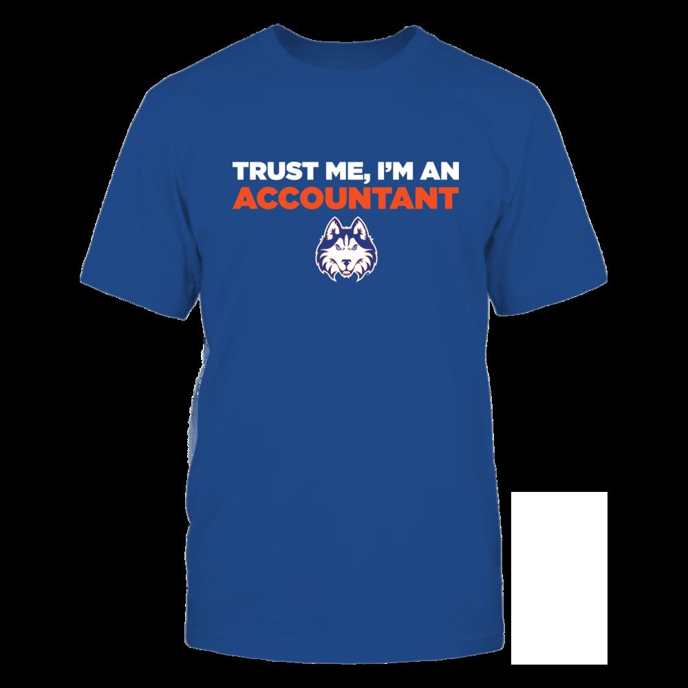 Houston Baptist Huskies - Trust Me - Accountant - Team Front picture
