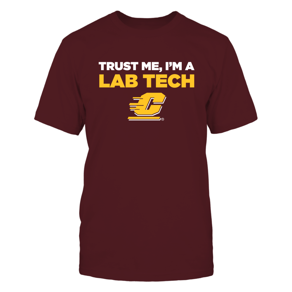 Central Michigan Chippewas - Trust Me - Lab Tech - Team Front picture