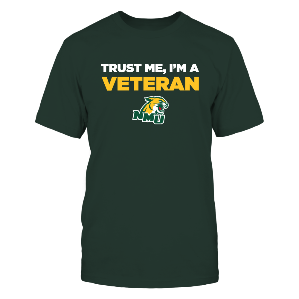 Northern Michigan Wildcats - Trust Me - Veteran - Team Front picture