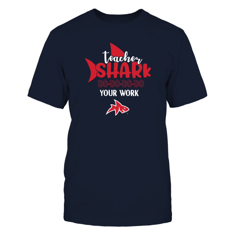 Ole Miss Rebels - Teacher Shark Do Your Work - IF13-IC13-DS75 Front picture
