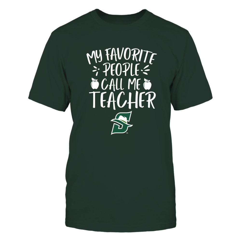 Stetson Hatters - My Favorite People Call Me Teacher - Team Front picture