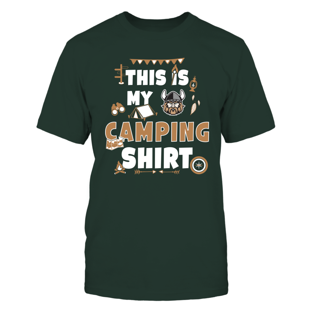 Cleveland State Vikings - My Camping Shirt - Team Front picture