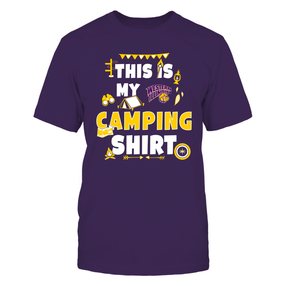 Western Illinois Leathernecks - My Camping Shirt - Team Front picture