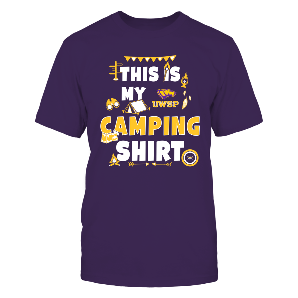 Wisconsin-Stevens Point Pointers - My Camping Shirt - Team Front picture