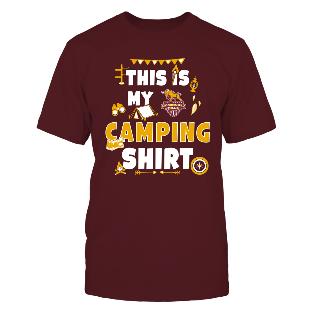 Cal State Dominguez Hills Toros - My Camping Shirt - Team Front picture