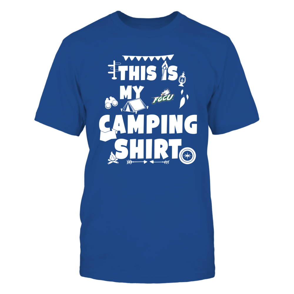 Florida Gulf Coast Eagles - My Camping Shirt - Team Front picture